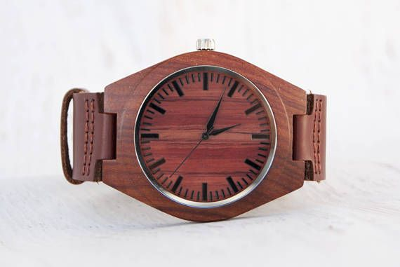 Wood Watch Engraved Free Engraving Wooden Watch Mens Wooden