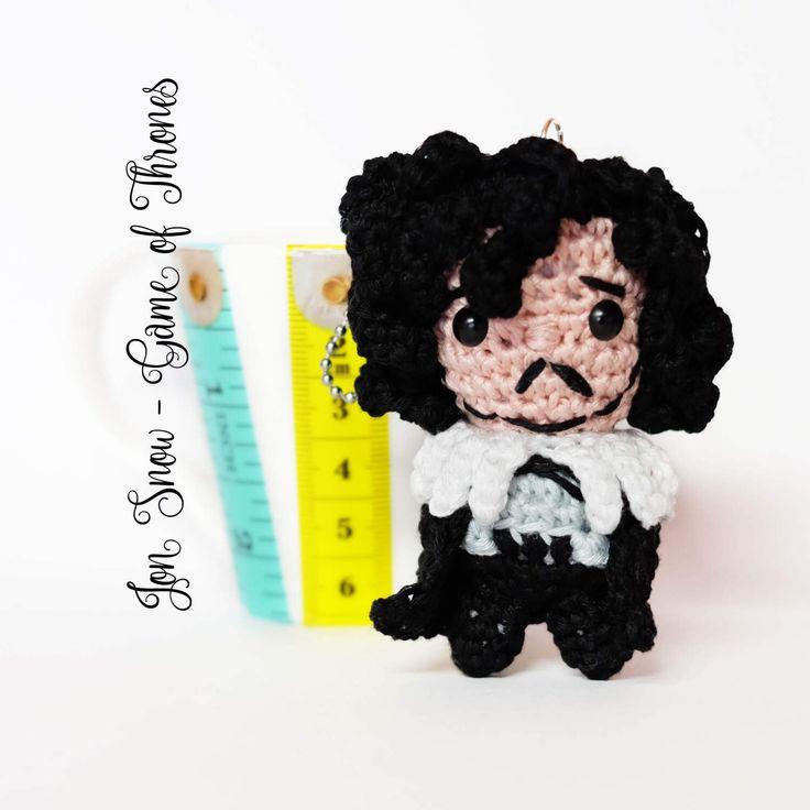 Un preferito personale dal mio negozio Etsy https://www.etsy.com/it/listing/237281983/jon-snow-amigurumi-portachiavi