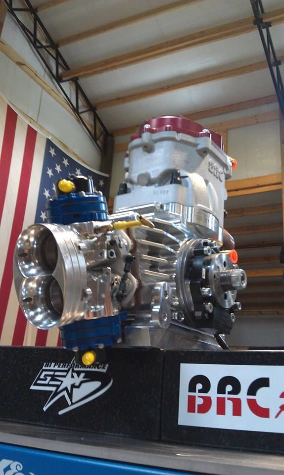 Wicked fast racing go kart engine