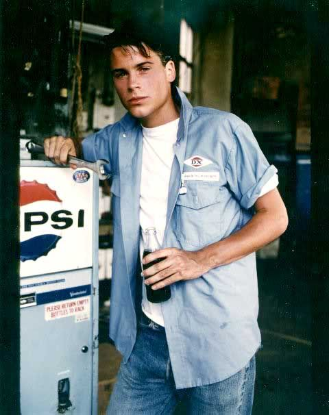 Rob Lowe - the outsiders. One of my all-time favorite movies!