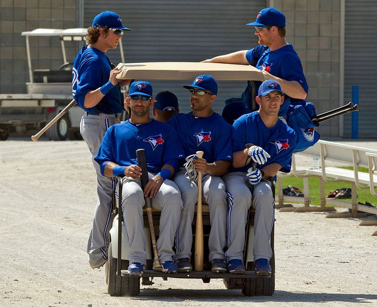 Rasmus, Bautista, Thames, Mathis and Lind | Car Pooling it to Work