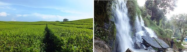 Kebun Teh Sidamanik, Air Terjun Bah Biak di Perkebunan Bah Butong