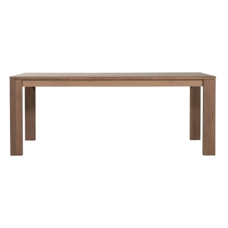 Table Chêne Massif Quadro Ethnicraft  에스니크래프트  Pinterest