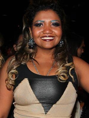 """Gaby Amarantos - The singer from northern from Brazil gained fame with her debut album in a style known as """"techobrega"""". Gaby won three awards at the recent 2012 Video Music Brasil award show. She supports the rise of Brazil's own pop music and rejects the media's continuous attempt to compare her Beyonce."""