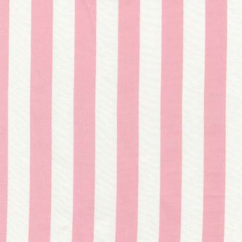 Pink Stripe Fabric | Discount Pink and White Striped Fabric | Carousel Designs 500x500 image
