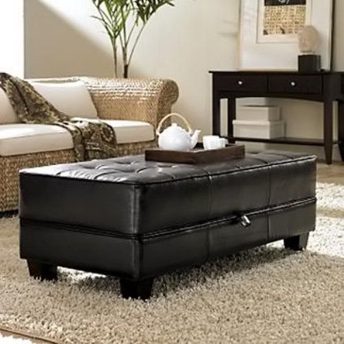 best 25+ leather ottoman coffee table ideas on pinterest | leather