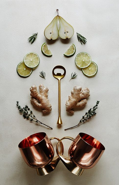 Make It in a Mug: The Pear Moscow Mule Is it just us, or is everything just a little bit better...