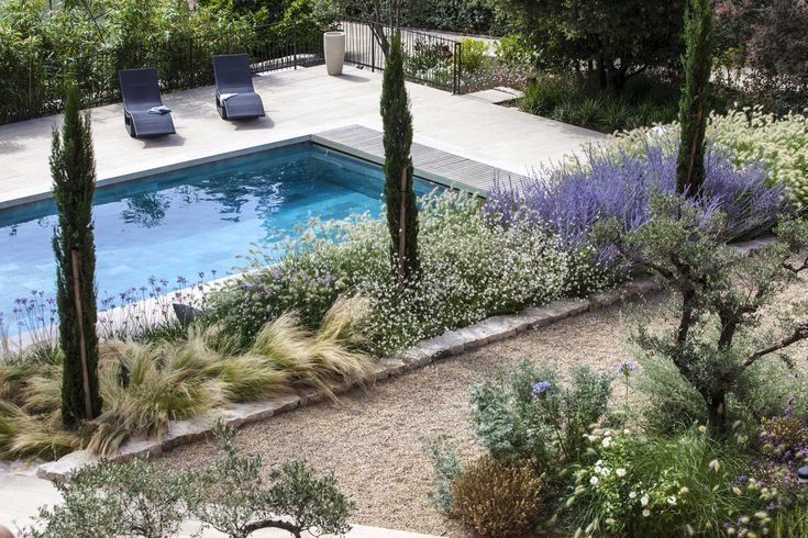 Aix En Provence Private Gartengestaltung Landschaftsarchitekt
