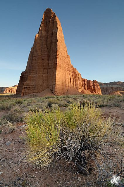 Temple of the Sun, Capitol Reef National Park, Utah. Photo: Joshua Cripps via Flickr