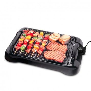 Smart Planet Smokeless Nonstick Indoor Grill, available at the Food Network Store: Indoor Grilled, Bbq Grilled, Barbeque Grilled, Smart Planets, Electric Indoor, Smokeless Indoor, Kitchens Gadgets, Barbecue Grilled, Indoor Barbeque