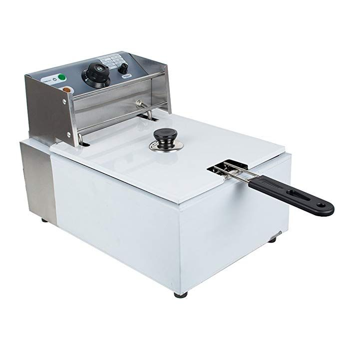 Ixaer Electric Fryer 5 5l High Quality Stainless Steel Electric