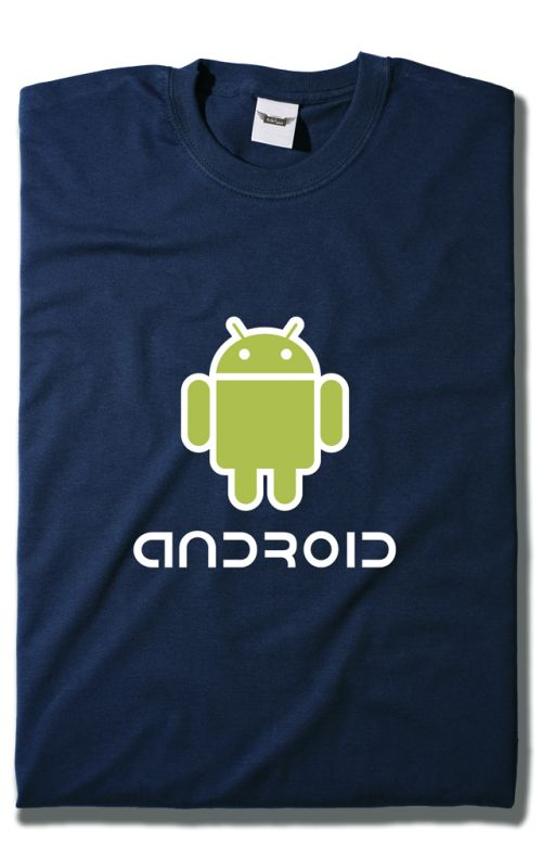 Camiseta de Android.