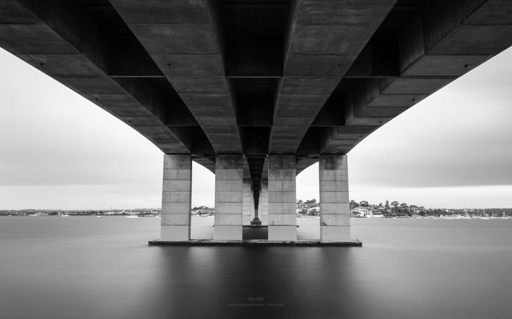 Captain Cook Bridge from a different perspective.
