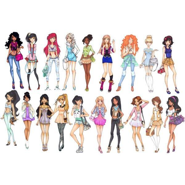 Modern Disney Princesses | www.pixshark.com - Images ...
