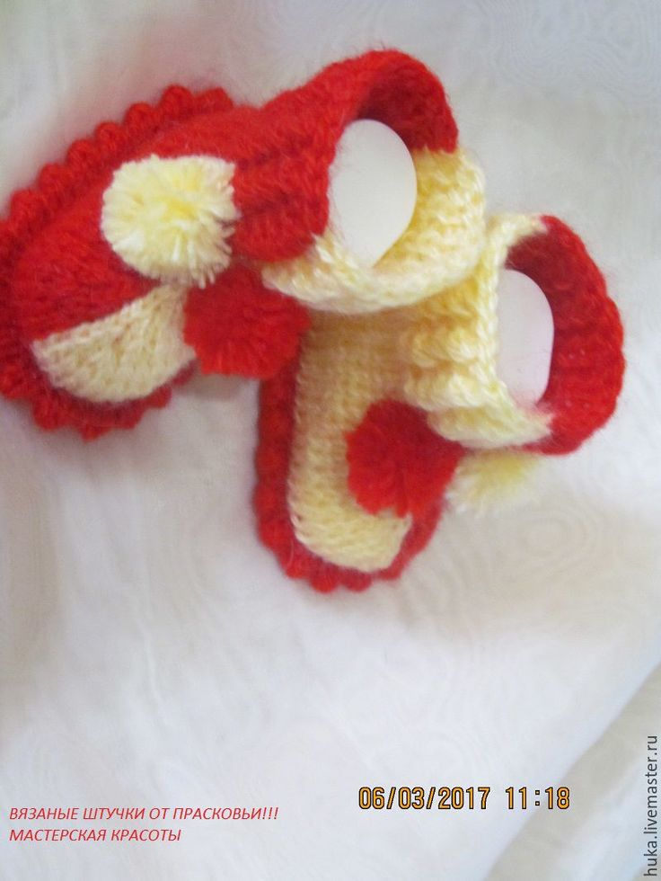 Купить Пинетки для маленькой леди. - комбинированный, обувь для детей, вязание на заказ, пинетки для новорожденных