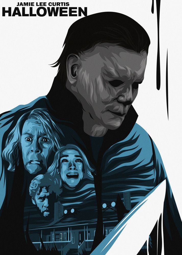 Halloween Amp With Images Michael Myers Art Michael Myers