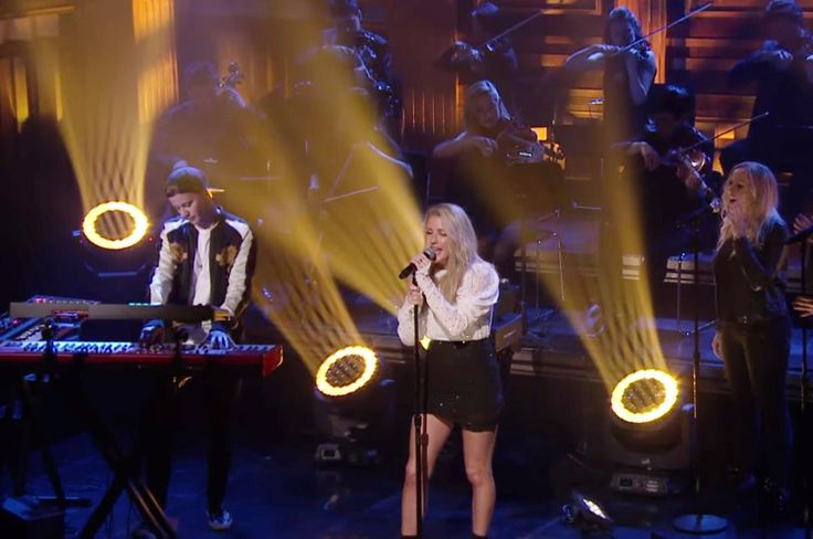 "Norwegian DJ Kygo and English singer-songwriter Ellie Goulding performed their latest song ""First Time"" on The Tonight Show starring Jimmy Fallon."