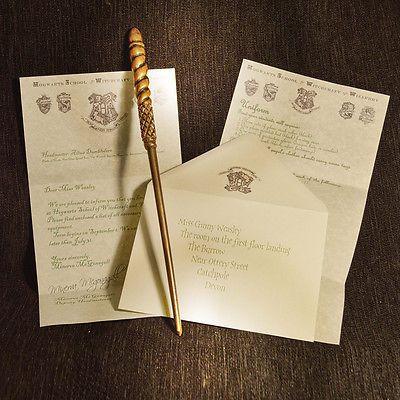 529 best Party Harry Potter images on Pinterest Harry potter - hogwarts acceptance letter
