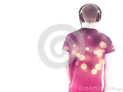 #MatthiasE #Stockimages: http://www.dreamstime.com/Matthiase_portfolio_pg1#res4055207  #lifestyle #headphones #view #with #entertainment #musician #rave #stereo #studio #music #hand #people #man #abstract #back #listening #club #guy #human #towards #dancing #party #sound #bokeh #caucasian #artist #background #lights #male #camera