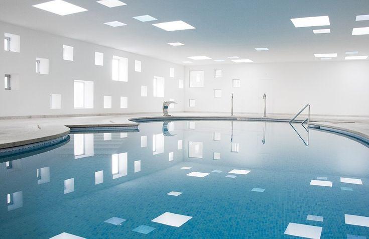 indoor poolIndoor Pools, Swimming Pools, Hotels Castel, Interiors Design, Del Hams, A2Arquitecto, Architecture, Spa, Castel Del