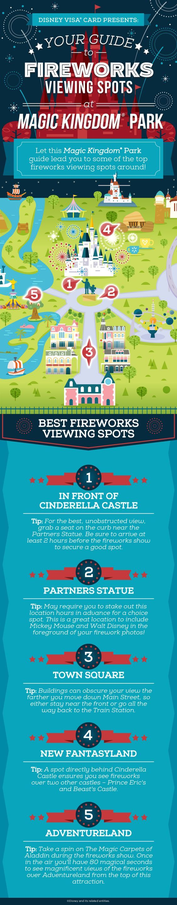 See some of the best 4th of July fireworks around at Walt Disney World® Resort. This guide to fireworks viewing spots will help you score a prime spot to all the magic!