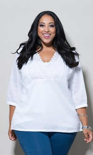 Rosemary Crochet Top $49.90 by SWAK Designs #swakdesigns #PlusSize #Curvy