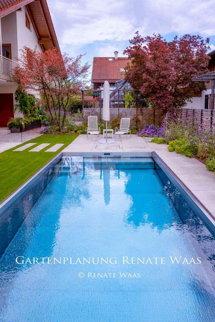 Garten Mit Pool Dieser Moderne Garten Ist Pflegeleicht Modern