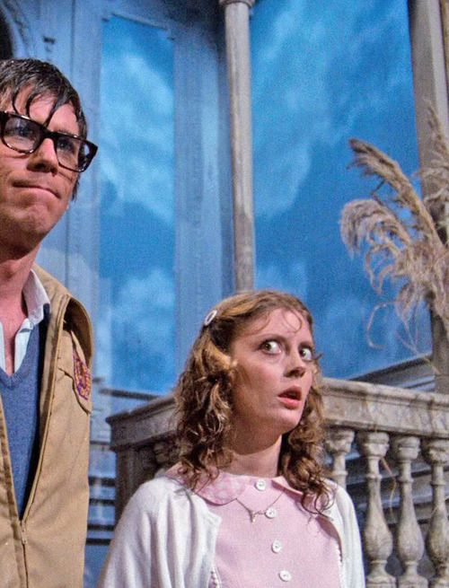 Barry Bostwick and Susan Sarandon in The Rocky Horror Picture Show 1975.