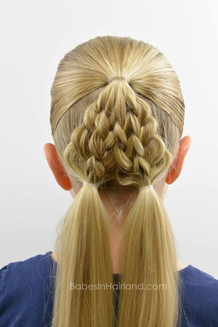37 best pigtails images on pinterest | hairstyles, braids and hair