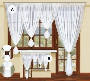 Szukasz prostych, ale eleganckich rozwiązań dla Twojego okna?  Tym rozwiązaniem może być właśnie ta #firanka z woalu. Zachwyci Cię ona wysoką jakością i starannym wykończeniem.  Wszyta taśma oszczędzi Ci trudu z układaniem fałd, a ozdobna taśma w pasującym do przepaski kolorze będzie przyciągać Twój wzrok.  Wysokość x Długość: 160x350 cm (wysokość szali 160, 140, 120 cm) kasandra.com.pl