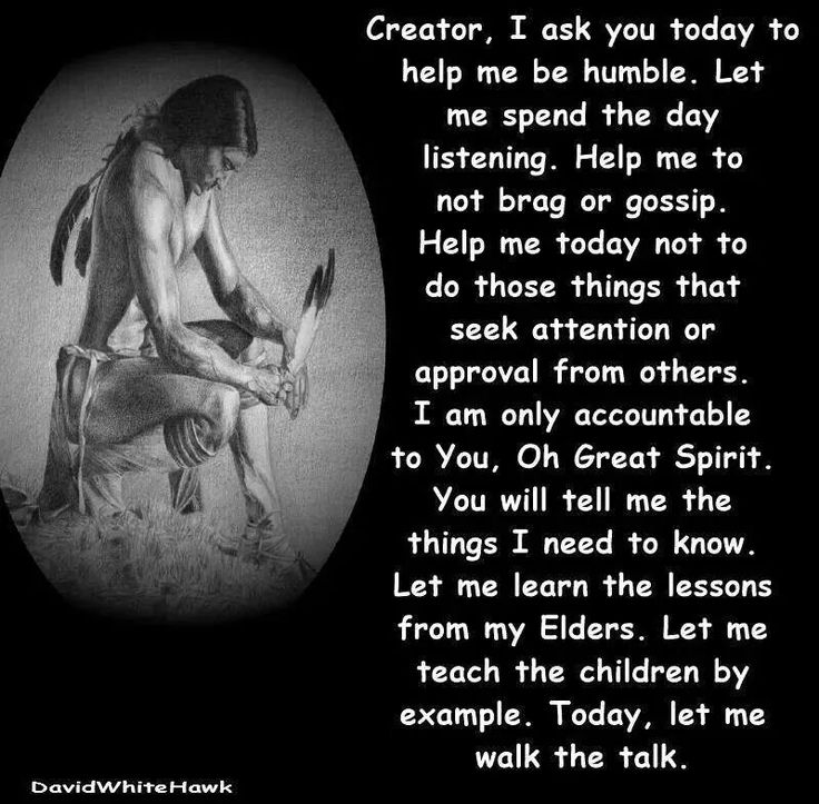 NAtive American morning prayer that with a word change here or there can be used by anyone to welcome a new day. Blessed be dear ones.
