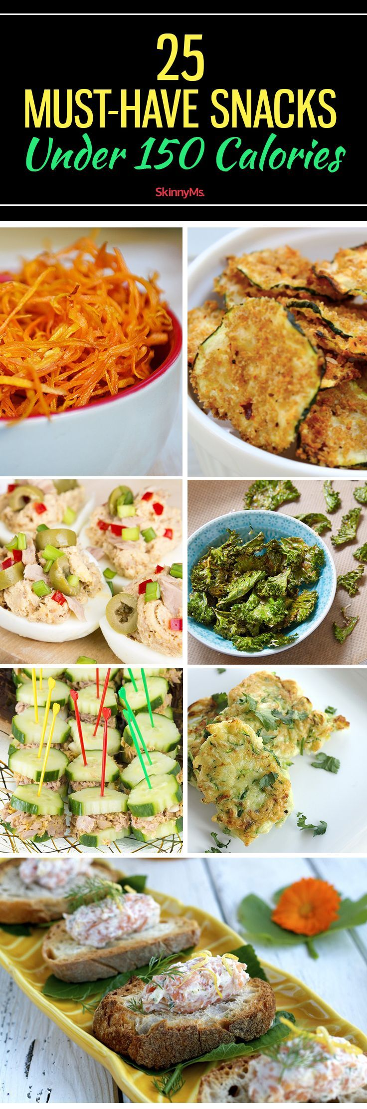 25 Must-Have Snacks Under 150 Calories
