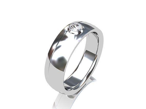 Awesome  Diamond ring mens wedding band diamond wedding ring men rings for men