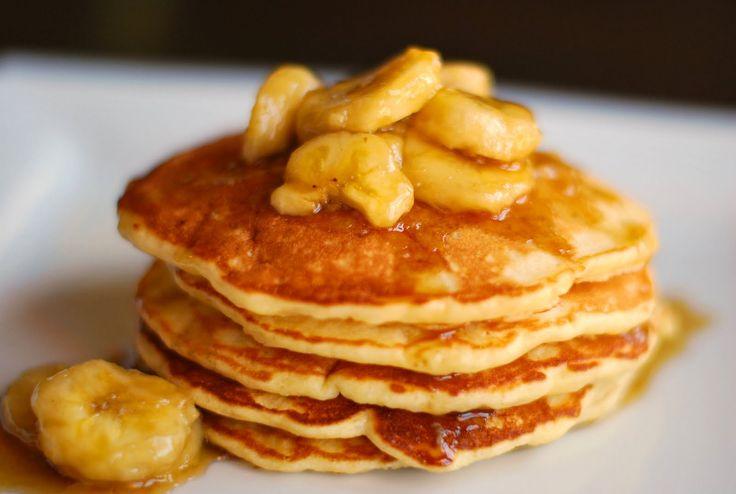 Make you banana pancakes