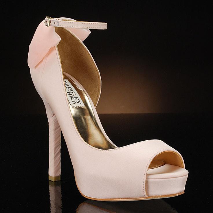 Blush Wedding Shoes: Blush Wedding Shoes Lovelovelove