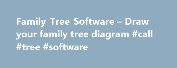 Family Tree Software – Draw your family tree diagram #call #tree #software http://detroit.remmont.com/family-tree-software-draw-your-family-tree-diagram-call-tree-software/  # Related Pages GenoPro, the best family tree software Geno Pro is a genealogy software for drawing family trees. The software can display a complete graphical representation of your genealogy tree. Geno Pro . stands out because you can see both ancestor and descendants at once. Unlike most other family tree software…