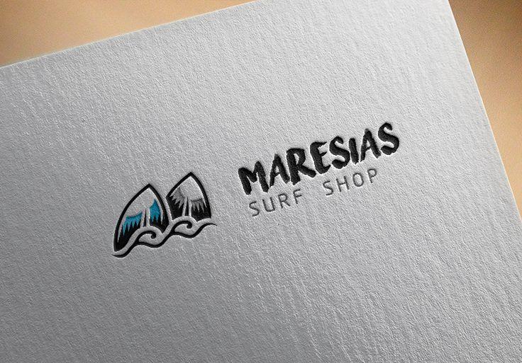 Criação de Logotipo Maresias Surf Shop                                                                                                                                                                                 Mais
