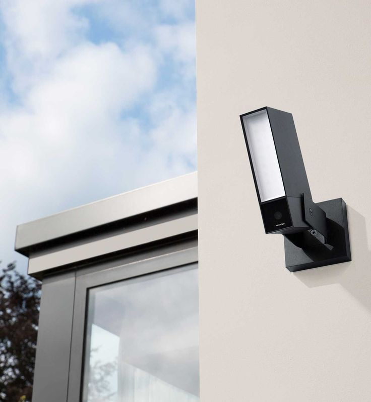 The Netatmo Presence outdoor security camera detects the presence of a person, car or animal and alerts you when something happens outside your home.