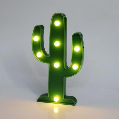 Home Decoration Cactus Shape Decoration LED Night Light