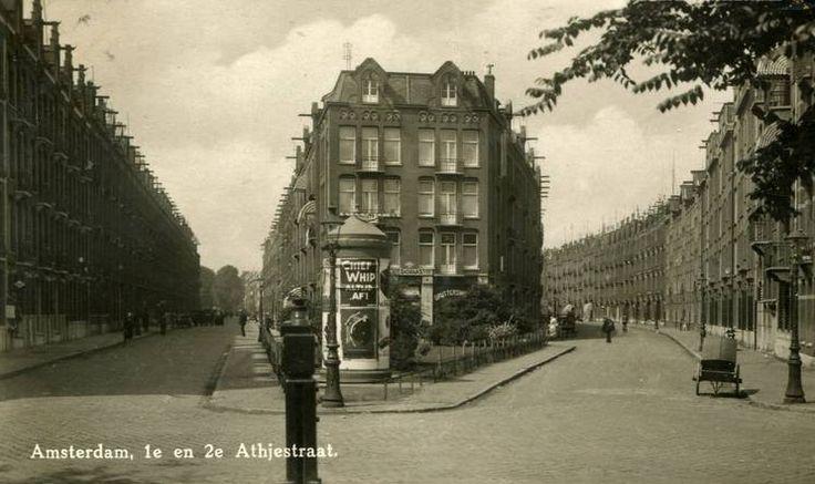 1e en 2e Atjehsstraat, Amsterdam Oost. Oude adres van de Familie J Belier en kostjuffrouw Tante Dien Jansen.