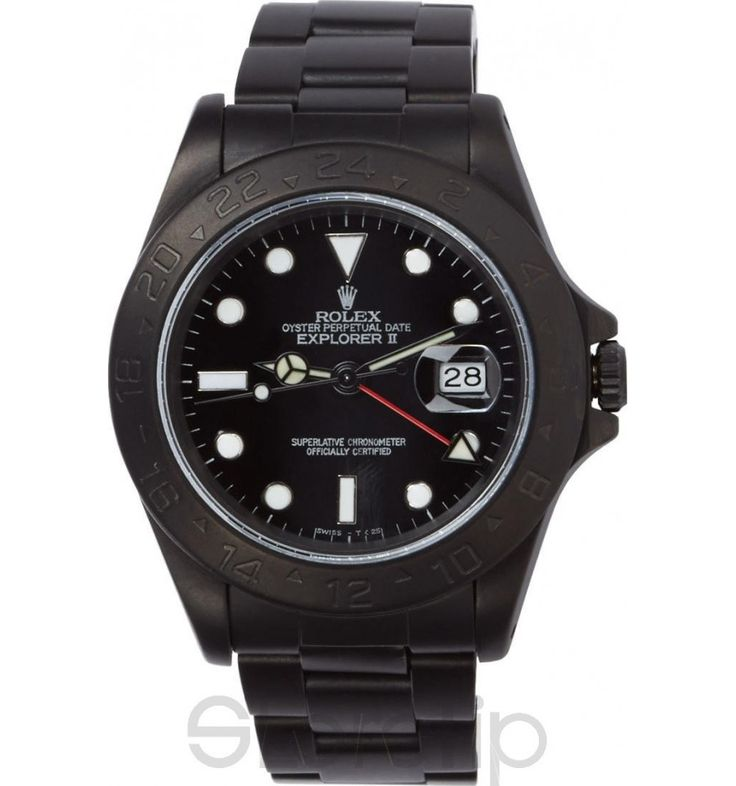 Black Limited Edition Matte Black Limited Edition Rolex Explorer Ii Watch