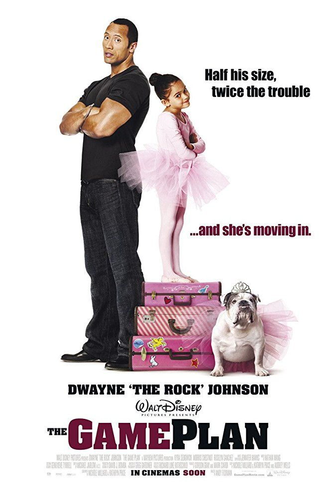 The Game Plan 2007 An Nfl Quarterback Living The Bachelor Lifestyle Discovers That He Has An 8 Year Old Daug Plan Movie Good Movies To Watch Internet Movies