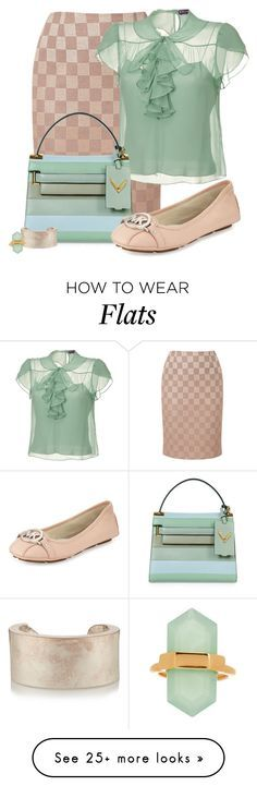 """""""Untitled #922"""" by kaishabackwards on Polyvore featuring Viyella, Ralph Lauren Collection, Valentino, Maison Margiela and MICHAEL Michael Kors"""