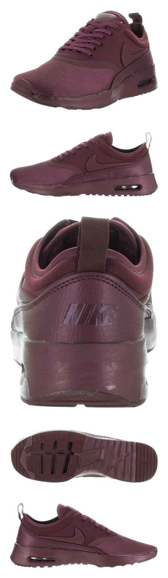 Nike Women's Air Max Thea Ultra Prm Night Maroon/Night Maroon Running Shoe 8 Women US #sports #shoes #nike