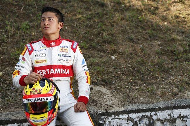 Rio Haryanto Fokus Hadapi GP2 Belgia - Hilite News - Racing 4 Autonews | 4W Motorsport News
