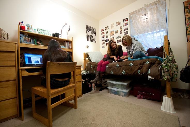 Simmons College Dorm Room