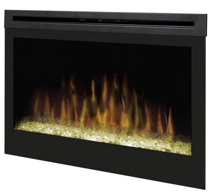 33 dimplex glass ember bed electric fireplace insert
