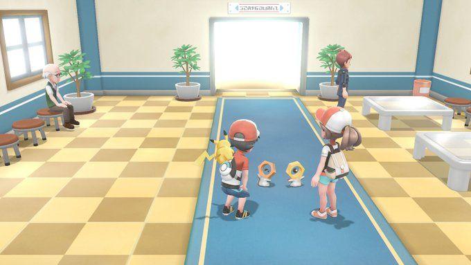 Serebii net: Official screenshots from Pokémon Let's Go
