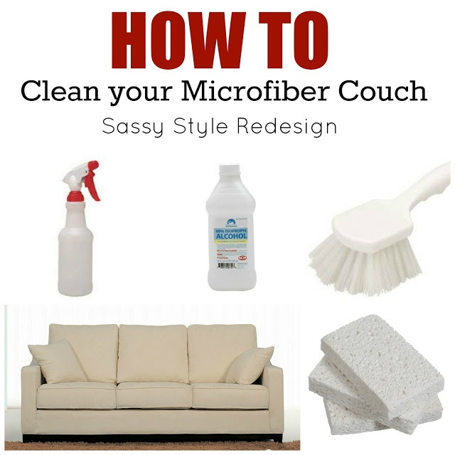 diy cleaner recipes that really work how to clean your microfiber couch tausha hoyt sassy. Black Bedroom Furniture Sets. Home Design Ideas