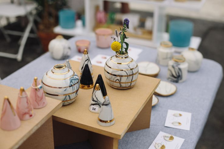 Pots and Ring Holders at the 1st ever RCF Miami Fair.    #renegadecraftfair  #renegademiami